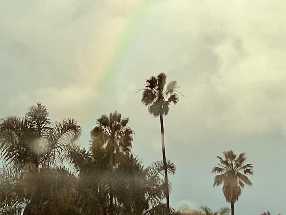 last chemo rainbow